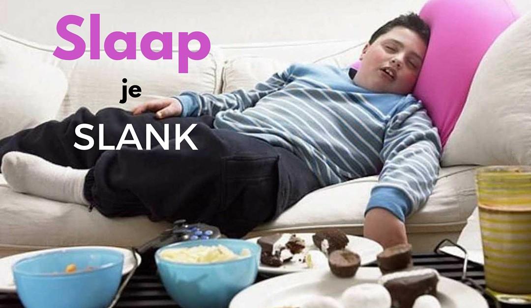 Van slaapproblemen word je dik, slaap je slank