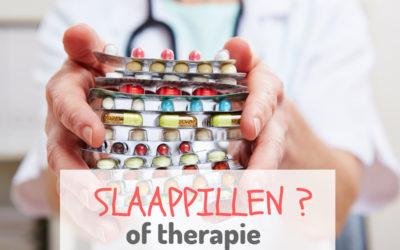 Slaapmedicatie of cognitieve gedragstherapie?